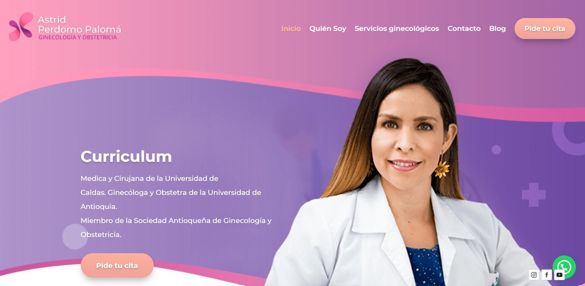 SEo Ginecologa Astrid Perdomo